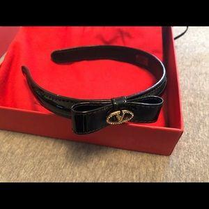 New Valentino Garavani Patent Leather Headband